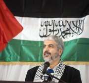 Khaled Meshaal, líder de la oficina política de Hamas