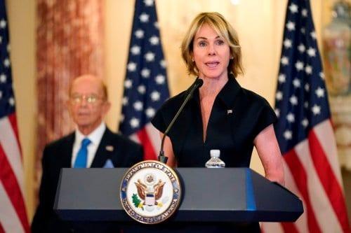La enviada de EE.UU. afirma que otro estado árabe reconocerá…