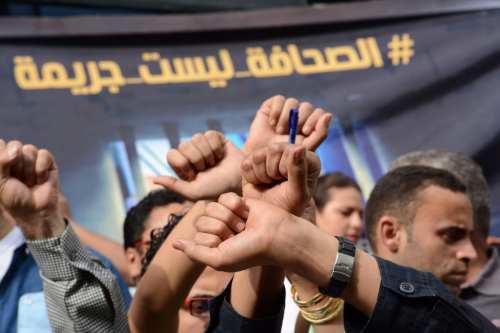Periodistas egipcios piden la ayuda sindical para liberar a sus…