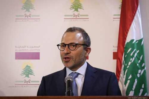 El libanés Bassil critica los esfuerzos de Hariri para formar…