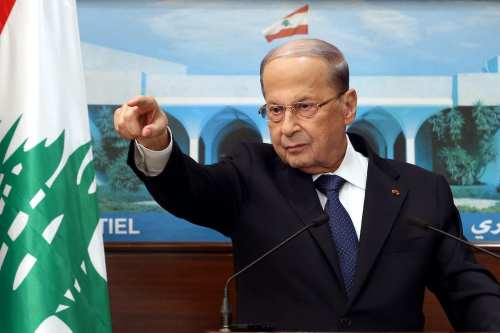 """Presidente libanés: """"Contamos con el apoyo de Washington en la…"""