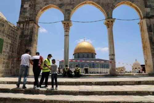 Hemos vivido para ver a los árabes entrar en Al-Aqsa…