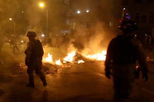 Protestas en Israel contra las medidas covid