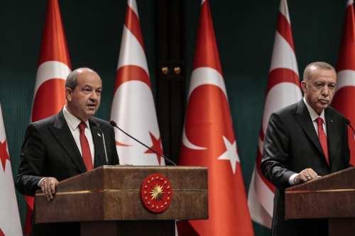 """Erdogan de Turquía: La solución de """"dos estados"""" para Chipre"""