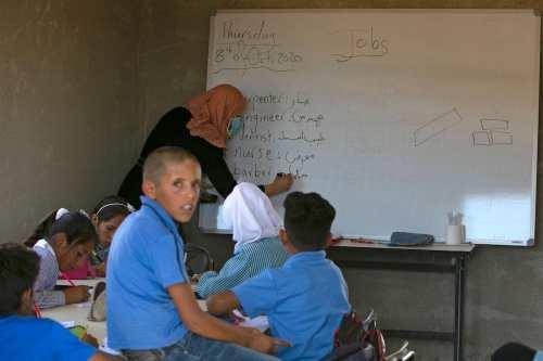 Los profesores de Palestina inician una huelga por el retraso…
