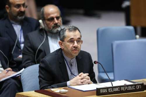 El enviado de Irán en la ONU dice que la…