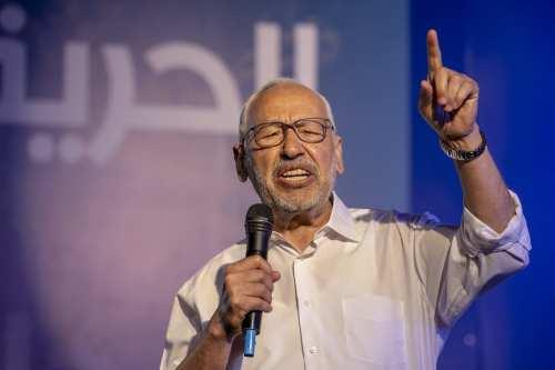"""Ghannouchi de Túnez: """"La causa palestina es sagrada y nuestro…"""