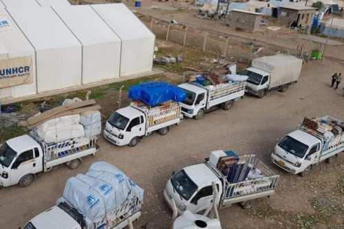 Los refugiados iraquíes en Turquía regresan a casa tras expulsar…
