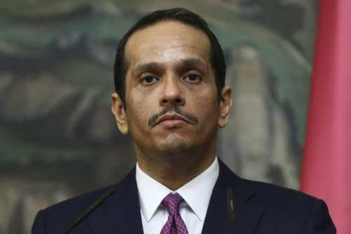 El ministro de Asuntos Exteriores de Qatar envía un mensaje…