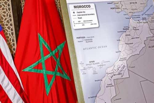 """El mapa de la OTAN muestra el Marruecos """"indiviso"""" incluyendo…"""