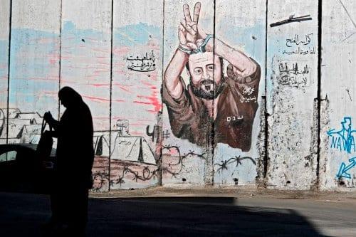 El icono palestino Marwan Barghouti se presenta a la presidencia