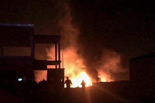 Líbano: Un depósito de gas explota cerca de la frontera…