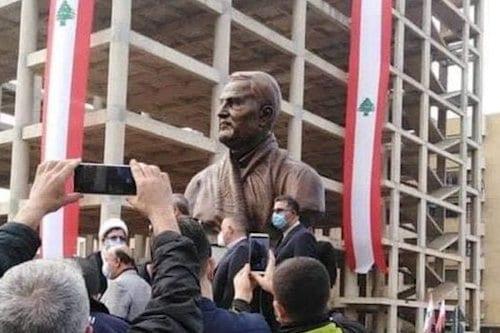 Indignación en el Líbano tras la inauguración de un monumento…