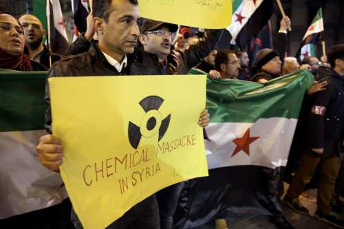 El principal científico del programa de armas químicas de Siria…