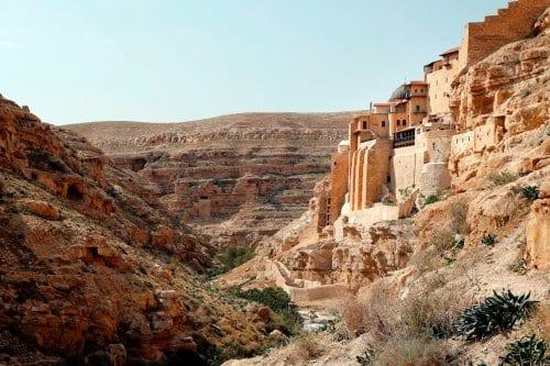 Descubre el monasterio de Mar Saba, Palestina