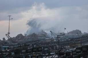 El 18 de febrero de 2021 el clima extremo afecta a Gaza [Mohammed Asad/Middle East Monitor].