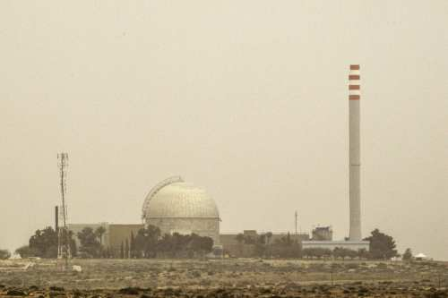 Israel amplía su instalación nuclear de Dimona