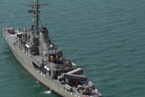 Irán y Rusia realizan un simulacro militar conjunto en el…