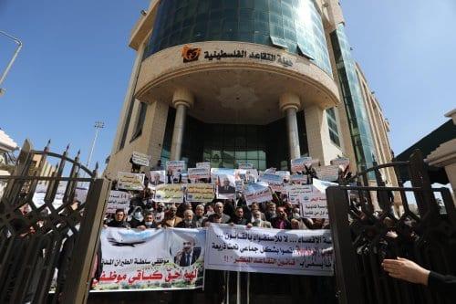 Los militares de Gaza protestan por la decisión de la…