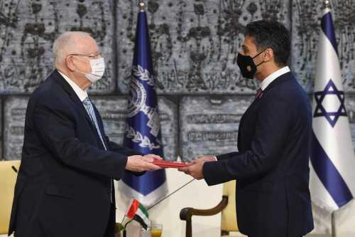 Toma de posesión del primer embajador de los EAU en…
