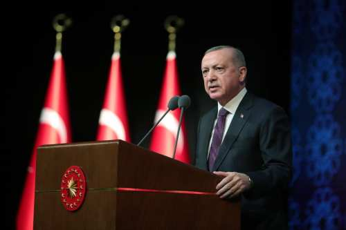 Erdogan pide que se ponga fin a la tragedia humanitaria…
