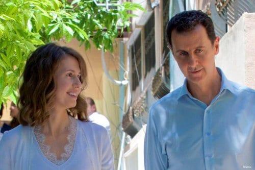 Siria: El presidente Assad y la primera dama dan positivo…