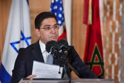 Marruecos e Israel firman un acuerdo de relaciones comerciales