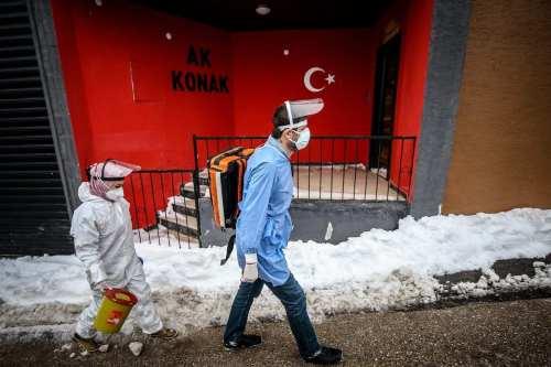 Turquía es el cuarto país del mundo con más casos…