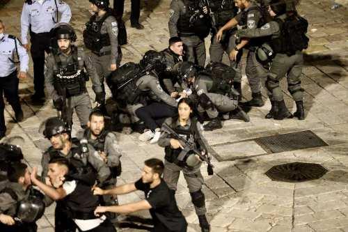 3 palestinos heridos en los enfrentamientos de Cisjordania