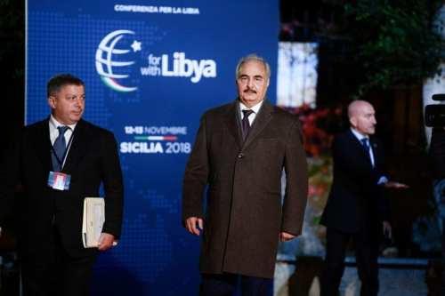 ¿Qué pretende Haftar hacer en Libia?
