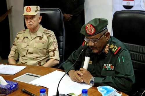 Los jefes de Estado Mayor de Egipto y Sudán discuten…