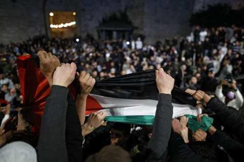 Israel utiliza drones para dispersar a los manifestantes en Cisjordania