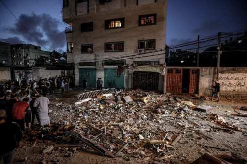 El número de víctimas en la Franja de Gaza se…