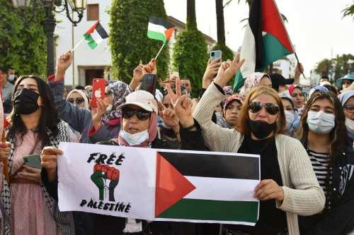 La opinión popular en Marruecos es claramente contraria a la…