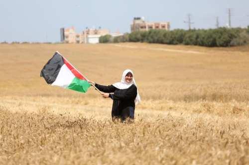 """Imágenes con mucho """"grano"""" desde Gaza"""