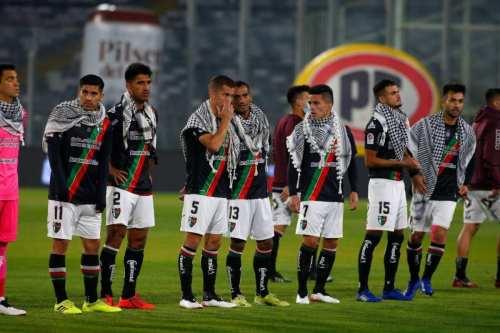 El Club Deportivo Palestino de Chile se solidariza con Jerusalén
