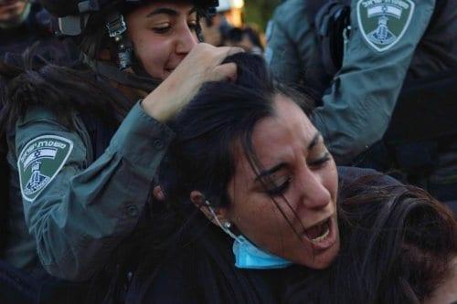 Israel continúa con sus agresiones en Sheikh Jarrah