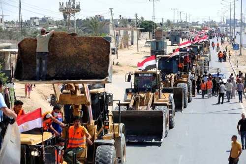Israel pide a Egipto que impida la llegada de cemento…
