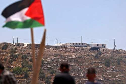 Palestina condena el plan de Israel de construir 534 nuevos…