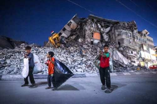 Los niños de Gaza cuentan cómo han sobrevivido al bombardeo…