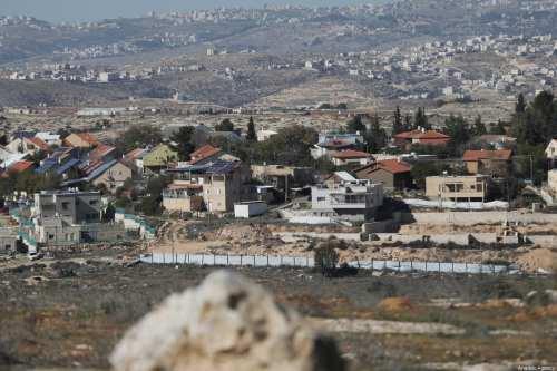 Israel comienza a construir nuevos asentamientos ilegales cerca de Ramallah