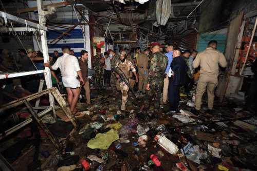 """Estados Unidos condena enérgicamente el """"cruel acto terrorista"""" en Bagdad"""