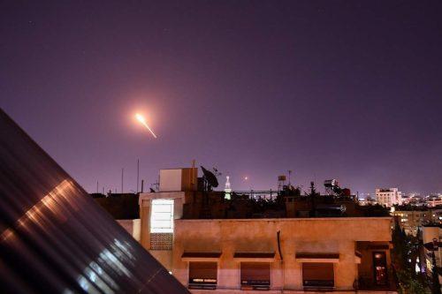 El gobierno de Siria asegura haber interceptado un ataque aéreo…