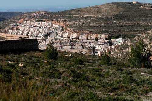 Estados Unidos denuncia el acuerdo para mantener intactos los asentamientos…