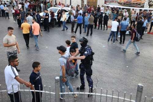 La Autoridad Palestina detiene a 21 activistas en Ramala