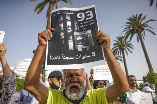 El periodista marroquí, Suleiman Raissouni, entra en su 112º día…
