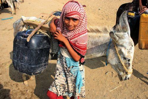 ONU: el 53% de los desplazados de Yemen son niños