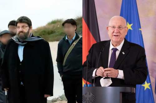 El presidente de Israel se disfrazó para pasear por las…