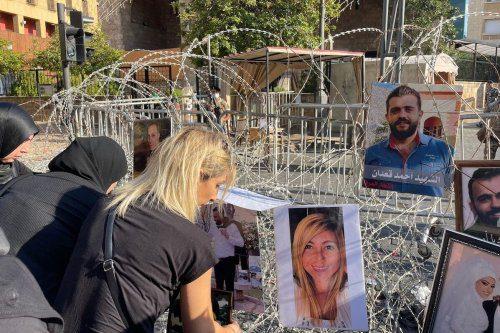 Al acercarse el aniversario de la explosión de Beirut, los…