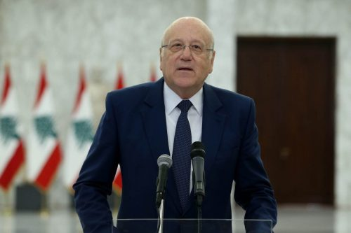 El primer ministro designado del Líbano niega que tenga previsto…